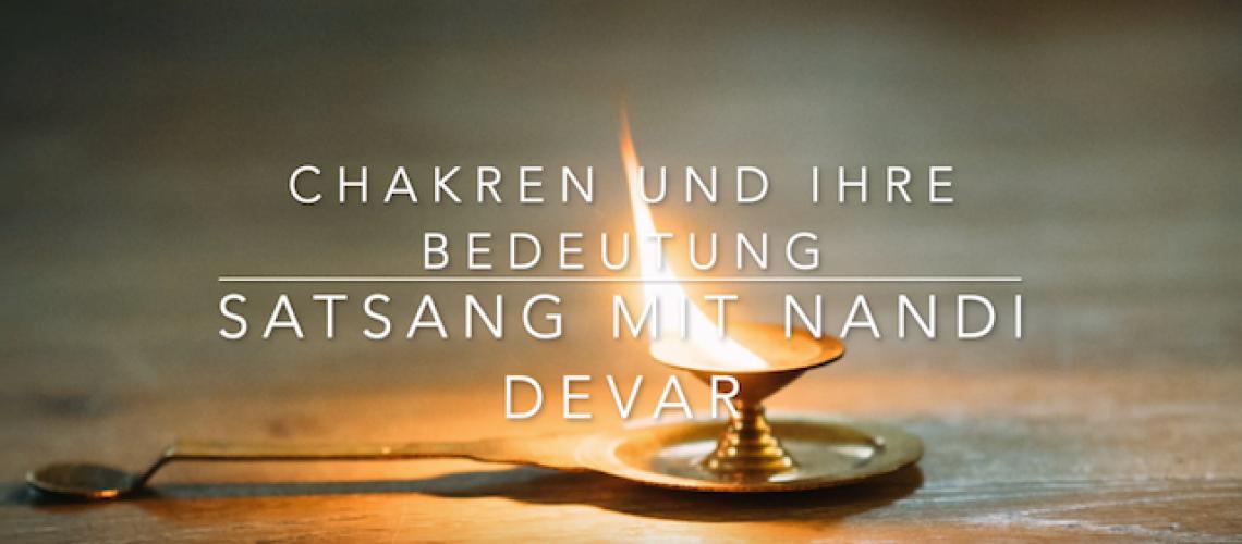 Satsang mit Nandi Devar